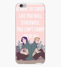 Carry On - Snowbaz  iPhone Case