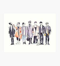 BTS Airport Fashion 171113 Kunstdruck