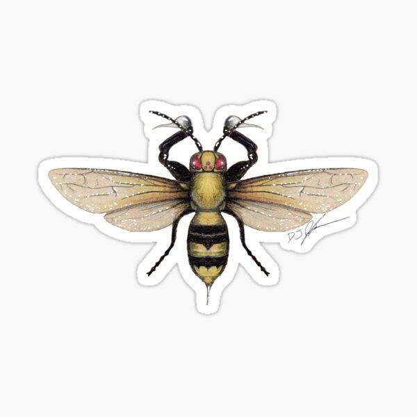 Poison Bee Sticker