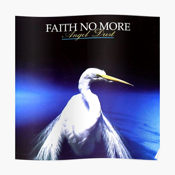faith no more - angel dust Poster