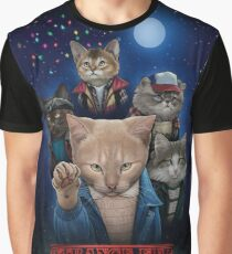 Strange Fur Things Graphic T-Shirt