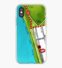 San Francisco map - Outer Sunset iPhone Case
