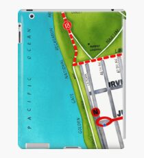 San Francisco map - Outer Sunset iPad Case/Skin