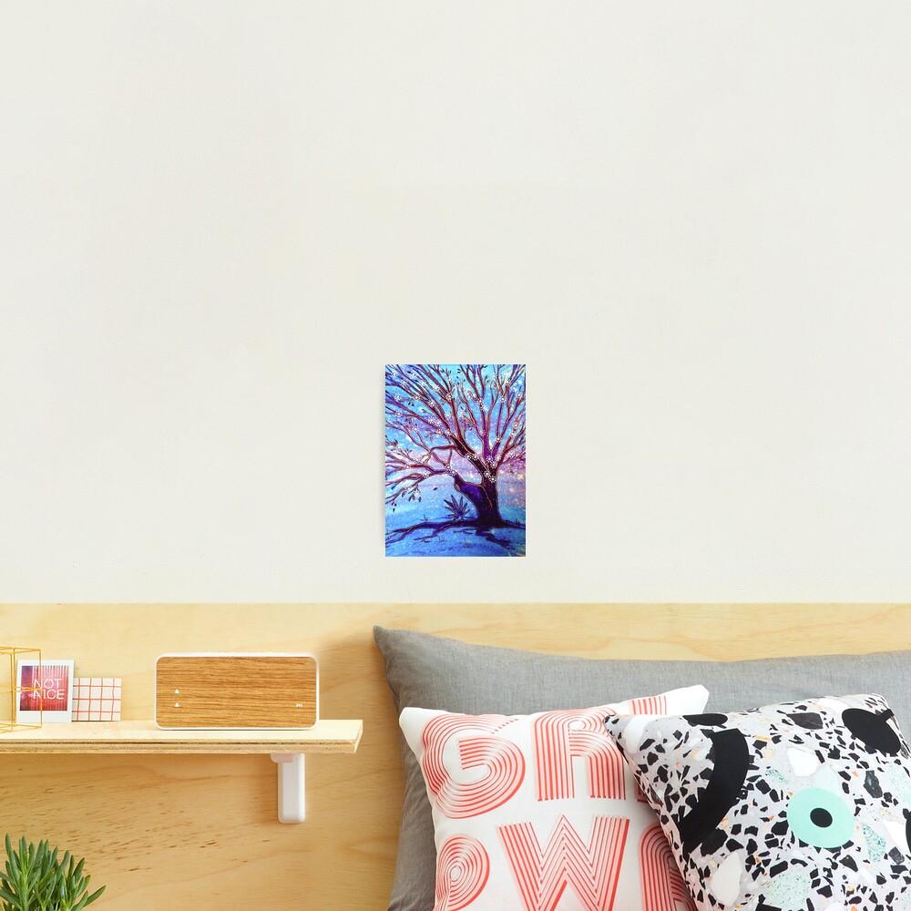 Snowflake Tree Photographic Print