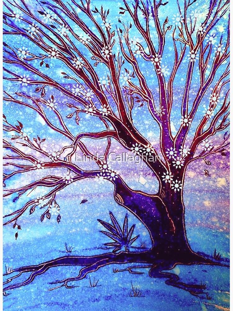 Snowflake Tree by LindArt1