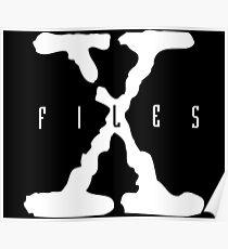 X-Files Logo Poster