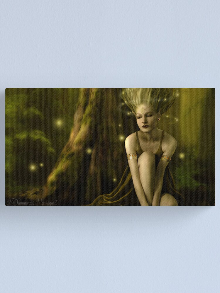Alternate view of Aelflaed  Canvas Print