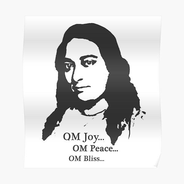 Paramahansa Yogananda - OM Joy Poster