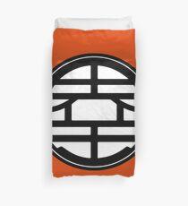 Goku emblem Duvet Cover