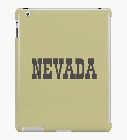 States Of Nevada Western Style  iPad Case/Skin