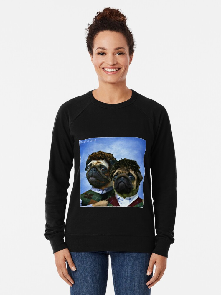 Alternative Ansicht von Schritt Pugs Leichter Pullover
