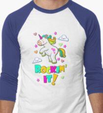 Dancing Unicorn - Rocking It - Magical Art T-Shirt