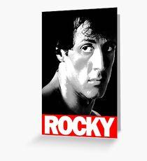 rocky balboa Greeting Card