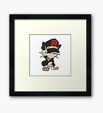 Rocket Meowth Framed Print