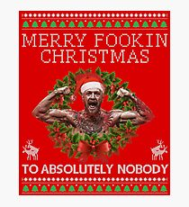 Merry Fookin Christmas (LIMITED EDITION) Photographic Print
