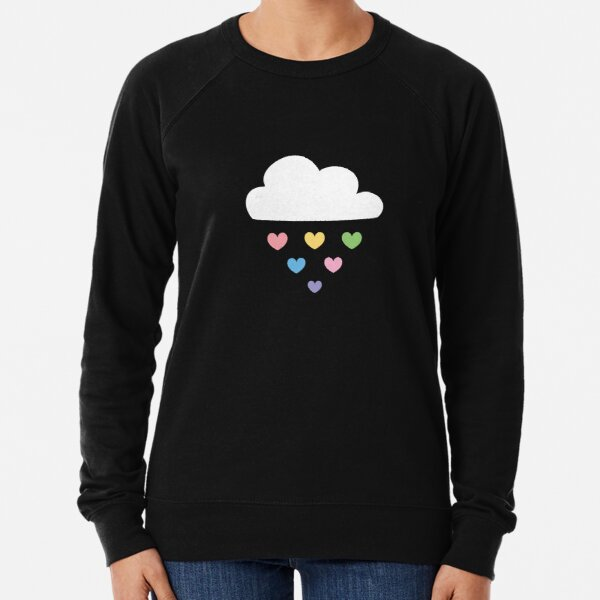 Raining hearts Lightweight Sweatshirt