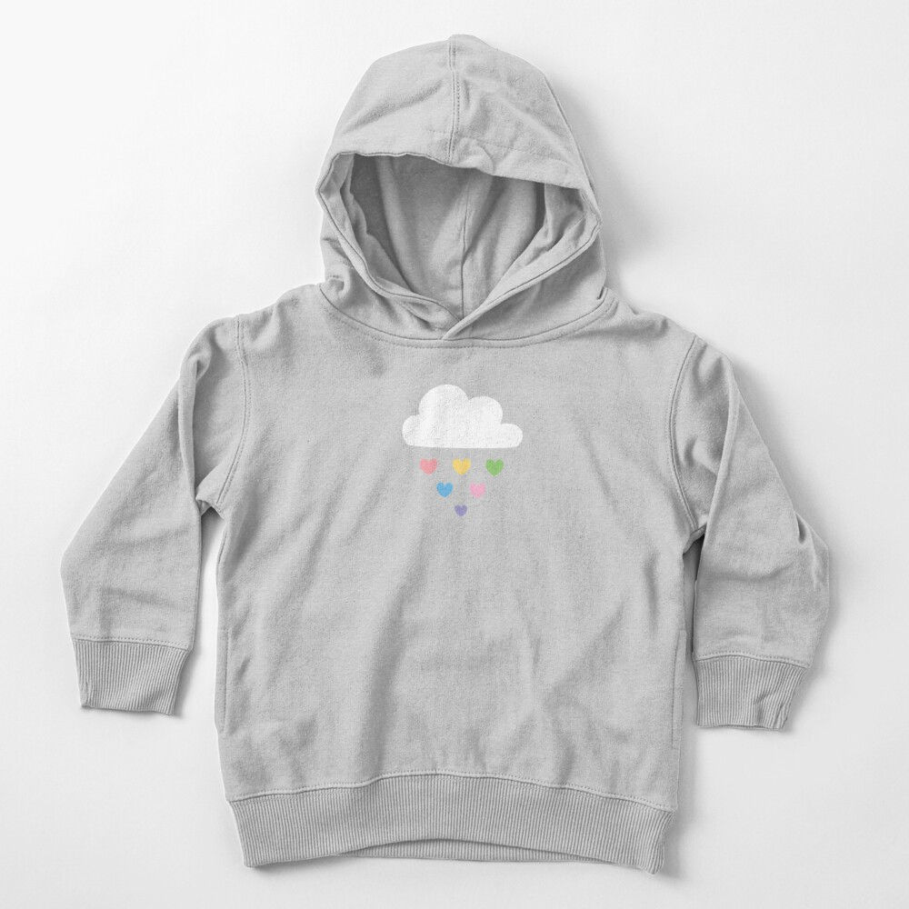 Raining hearts Toddler Pullover Hoodie