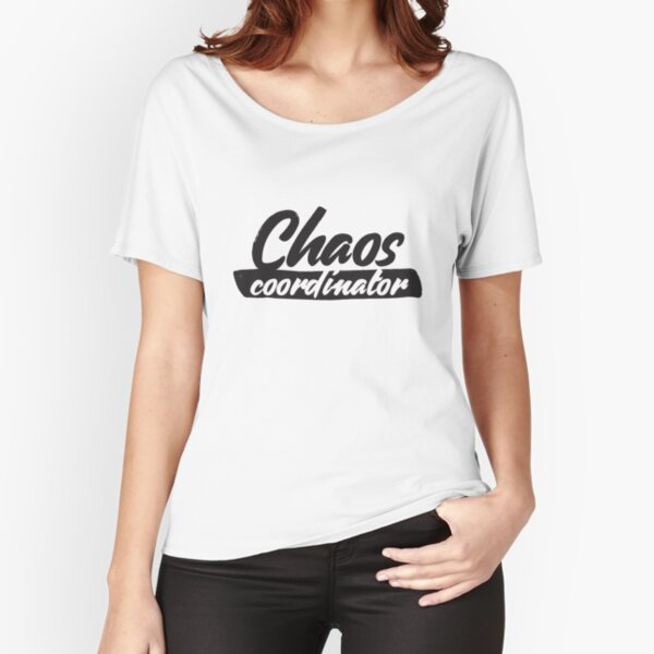 Chaos coordinator Relaxed Fit T-Shirt