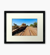 Silverton Railway Station Framed Print