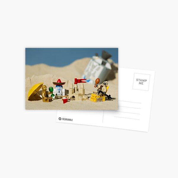 Lego Tatooine picnic Postcard