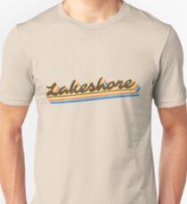Lakeshore | Retro Rainbow Unisex T-Shirt