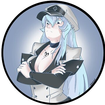 Esdeath JUDGE by NoxxyVoxxy