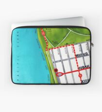 San Francisco map - Outer Sunset Laptop Sleeve
