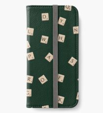 Scrabble iPhone Wallet/Case/Skin