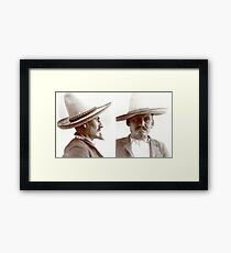 Inmate Profile of Francisco Salinas Framed Print