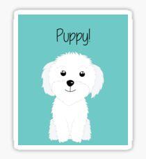 It is a puppy - National Puppy Day Sticker