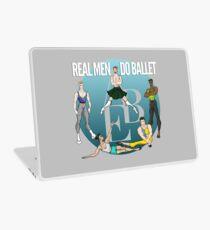 Real Men Do Ballet Group Laptop Skin