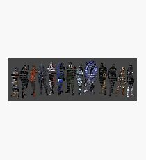 Shepard and the Squad Photographic Print