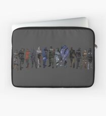 Shepard and the Squad Laptop Sleeve