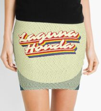 Laguna Honda | Retro Rainbow Mini Skirt