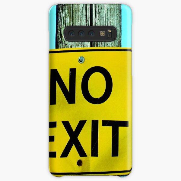No Exit Street Sign Photograph Samsung Galaxy Snap Case