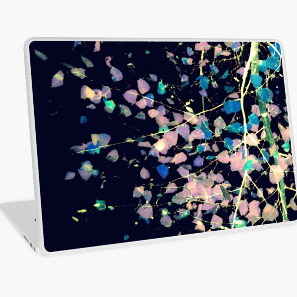 Nature Pattern # 4 - Birch (Blue) Laptop Skin