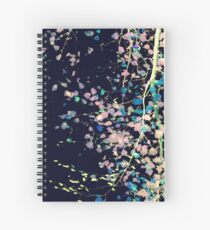 Nature Pattern # 4 - Birch (Blue) Spiral Notebook