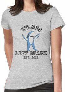 Team Left Shark Womens Fitted T-Shirt