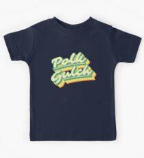 Polk Gulch   Retro Rainbow Kids Clothes