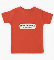 Marysville   Retro Badge Kids Clothes