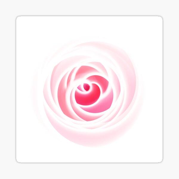 Rosenblüte rosa Sticker