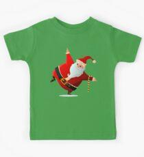 Funny Dancing Santa Claus Kids Clothes