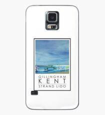 Lido Poster Gilliangham Strand Case/Skin for Samsung Galaxy