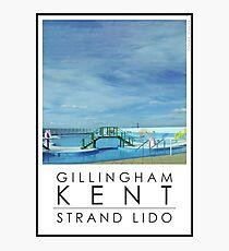 Lido Poster Gilliangham Strand Photographic Print