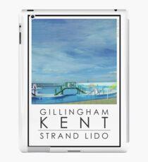 Lido Poster Gilliangham Strand iPad Case/Skin
