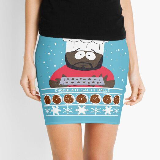Chocolate Salty Balls Mini Skirt