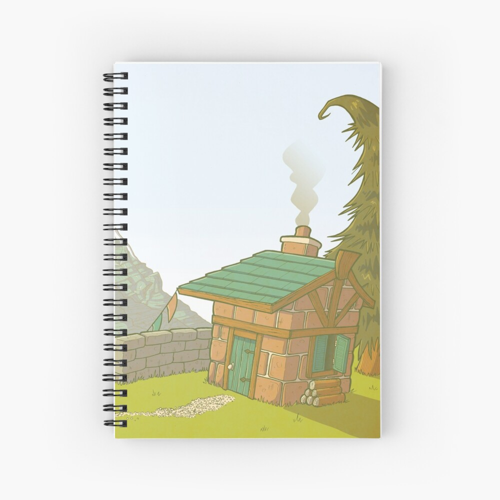 Happy Place Spiral Notebook