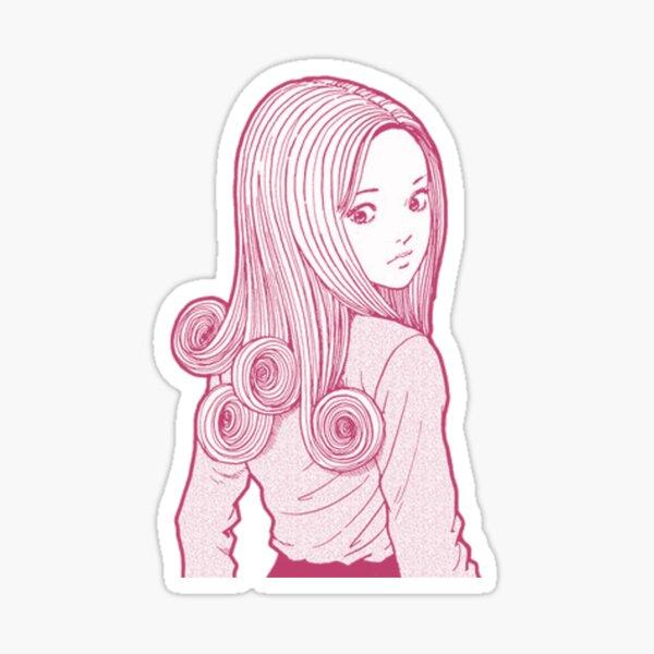 Kirie (Pink) Sticker