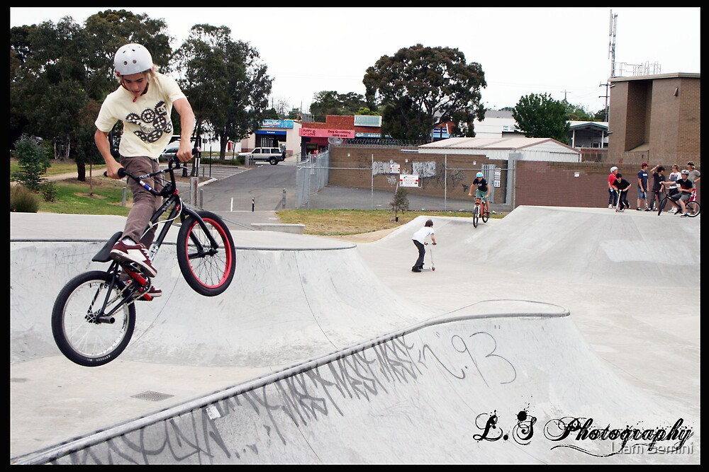 bmx turndown spine by Liam Semini