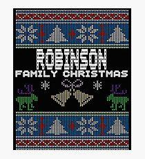 Robinsons Ugly Family Christmas Gift Idea Photographic Print